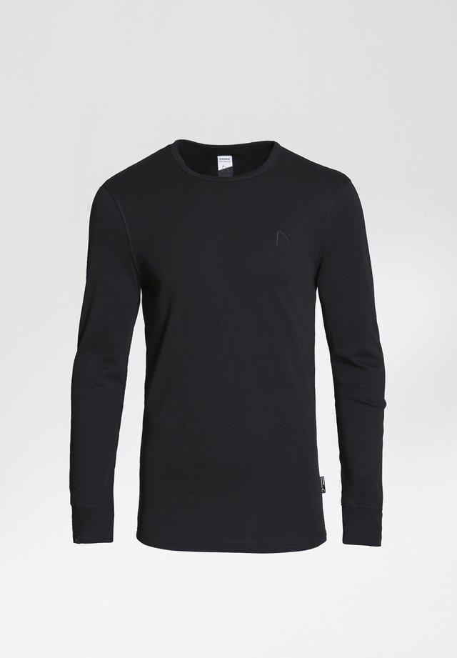 DAMIAN-B - Maglietta a manica lunga - black