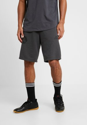 LOGO - Sports shorts - grey