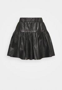 YASDUNA SKIRT - Mini skirt - black