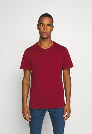 Basic T-shirt - burgundy
