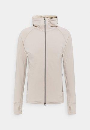 POWER HOUDI - Fleece jacket - sand