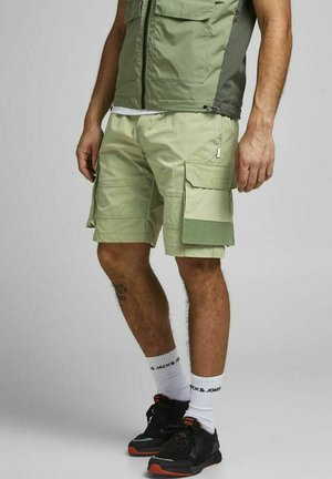 JJIROSS JJCARGO - Shorts - deep lichen green