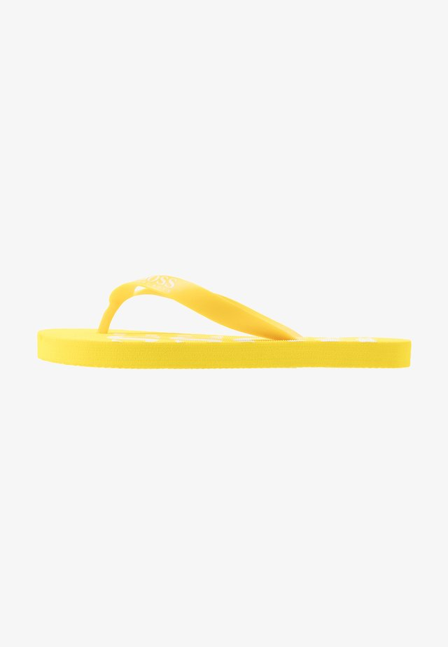 Pool shoes - yellow