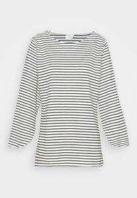 Kaffe - LIMIANA - Long sleeved top - chalk/black - 4