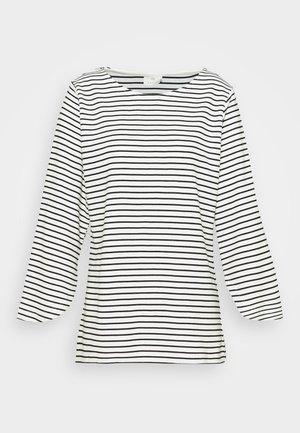 LIMIANA - Pitkähihainen paita - chalk/black