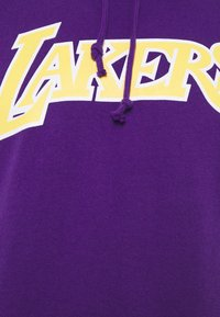 Mitchell & Ness - NBA LOS ANGELES LAKERS GAMEDAY HOODY - Hoodie - purple - 5