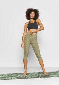 Cotton On Body - SO PEACHY CAPRI - Leggings - oregano marle - 1