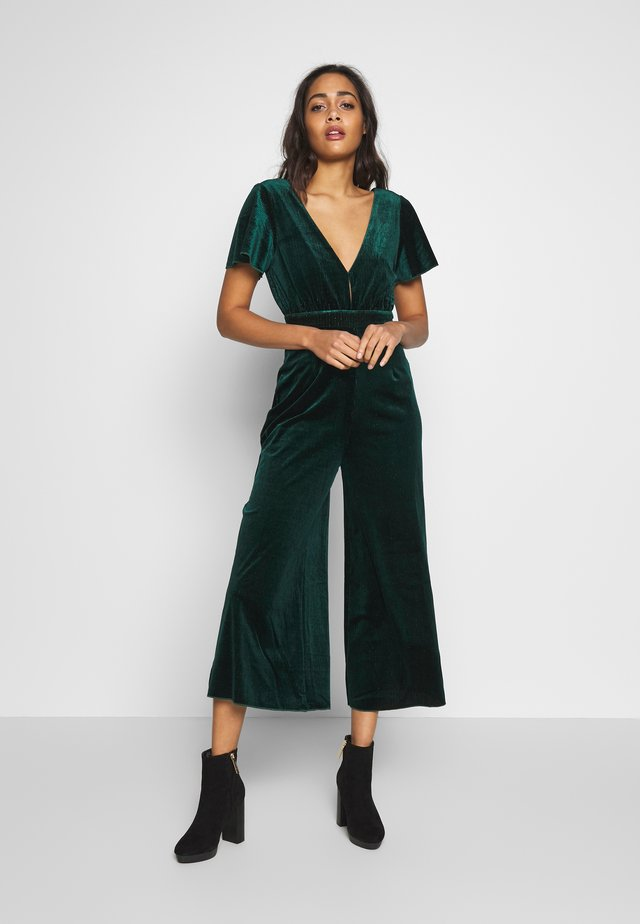 LEX - Jumpsuit - emerald