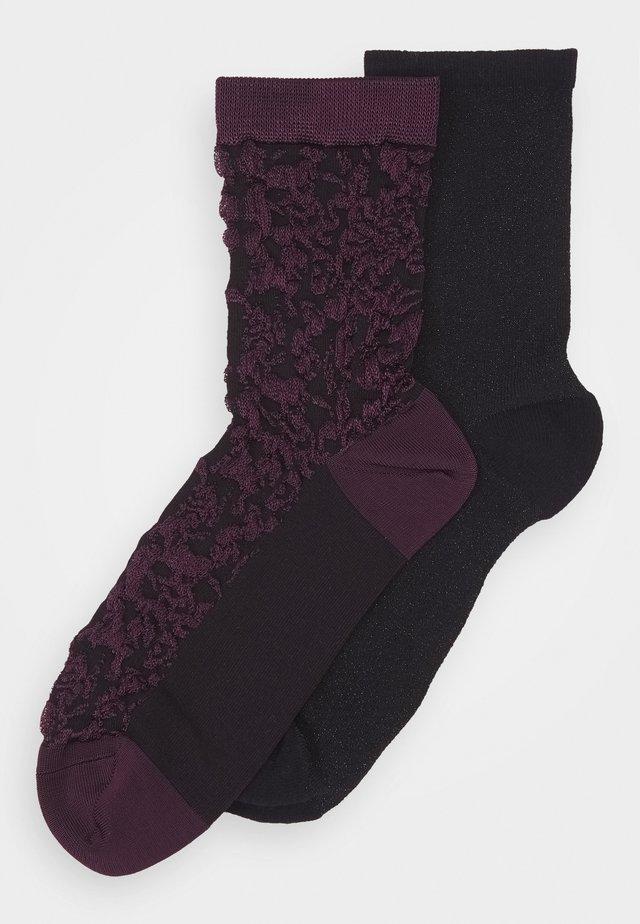 SOCK 2 PACK - Socks - black
