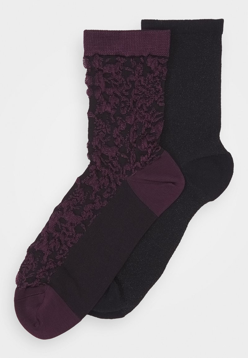 Becksöndergaard - SOCK 2 PACK - Socks - black