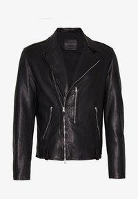 AllSaints - BONDI BIKER - Veste en cuir - black - 4