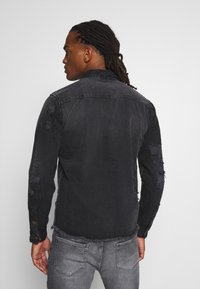 Redefined Rebel - JACKSON JACKET - Shirt - black/grey