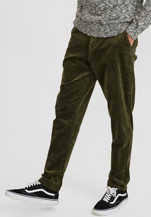 CORD PASPEL - Trousers - cypress