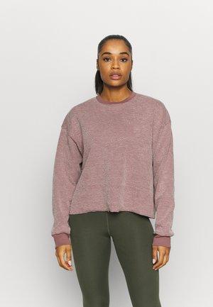 YOGA COVER UP - Trui - smokey mauve/fossil stone
