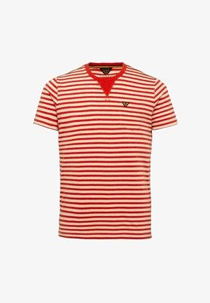 Print T-shirt - valiant poppy