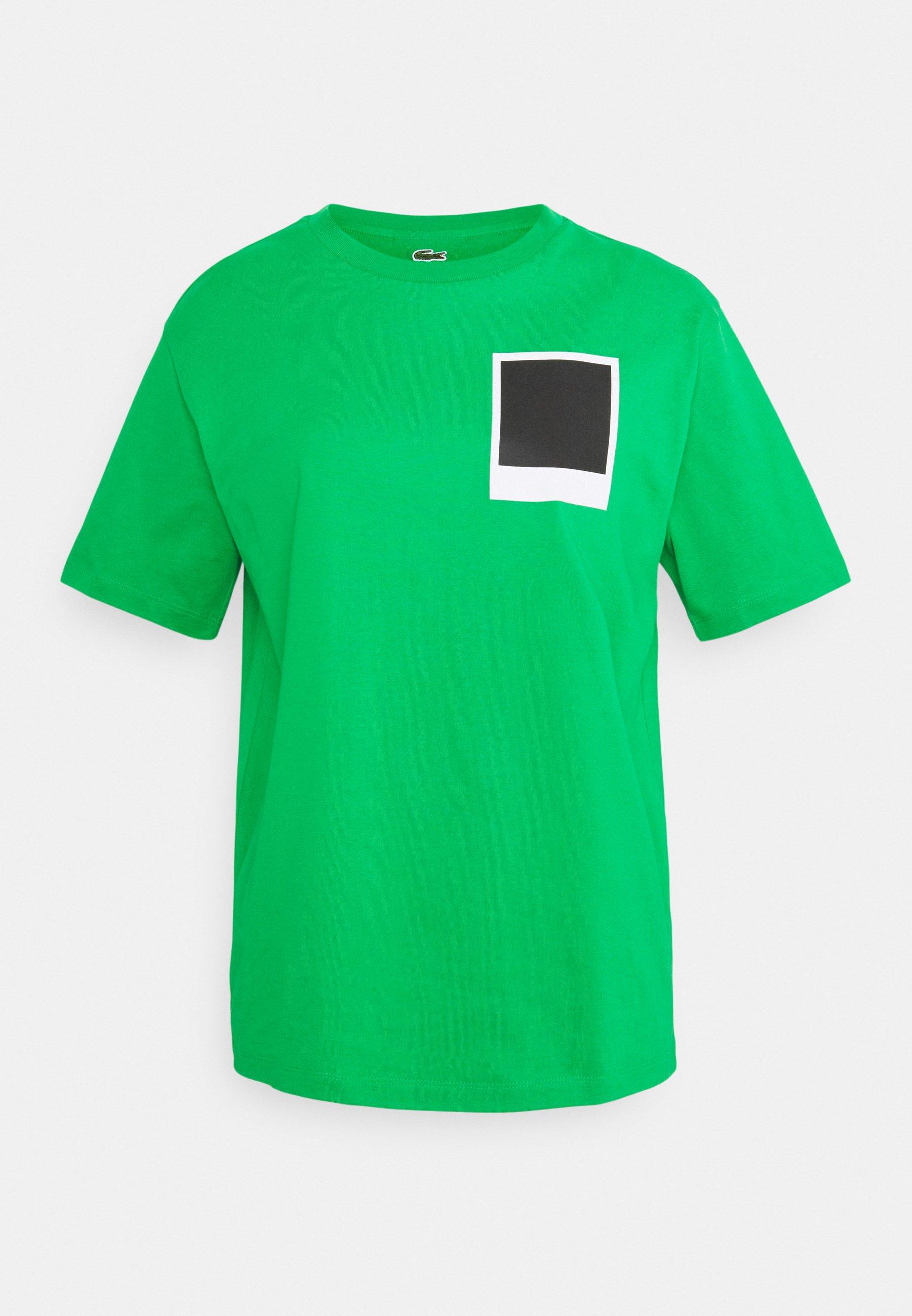 Damen LACOSTE X POLAROID  - T-Shirt print