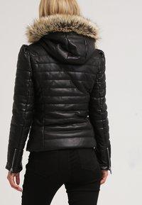 Morgan - CRAIE - Faux leather jacket - noir - 2