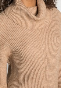 ONLY - ONLKATIA COWLNECK - Jumper - toasted coconut - 4