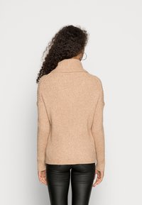 ONLY - ONLKATIA COWLNECK - Jumper - toasted coconut - 2