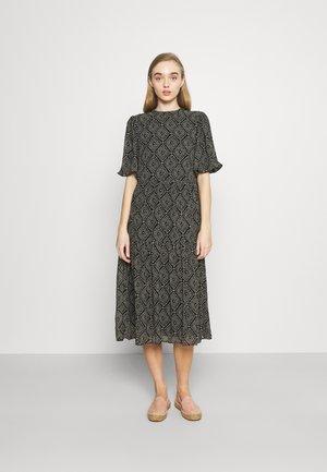 ONLNINA MIDI DRESS - Sukienka letnia - black/graphic