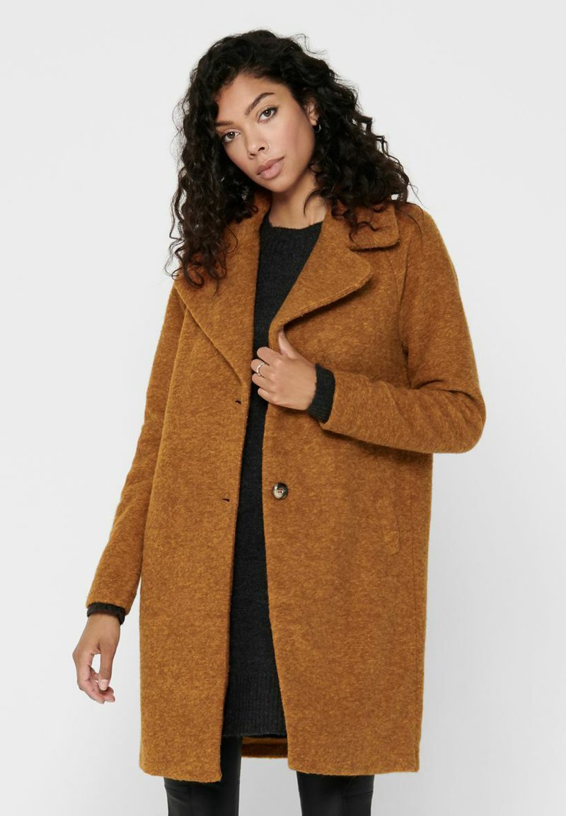 ONLY - Classic coat - pumpkin spice