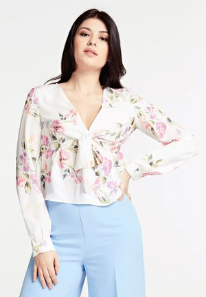 MIT ALLOVER-PRINT - Blouse - gemustert multicolor