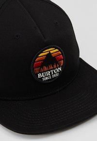 Burton - UNDERHILL                         - Cap - true black - 6