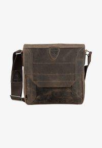 Strellson - HUNTER - Across body bag - dark brown - 3