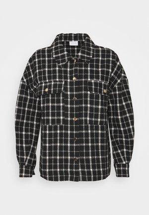 VISARAS SHAKET - Summer jacket - black/white