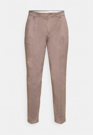 LINCOLN WIDE TROUSERS - Broek - caribou