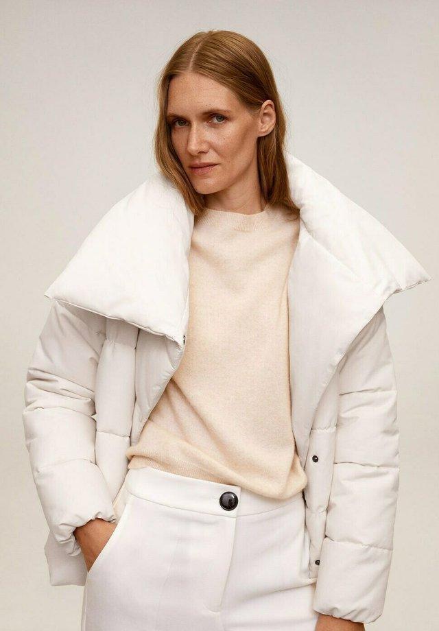 JOHN-I - Winter jacket - cremeweiß