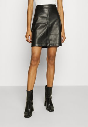 FRANCES SKIRT - Mini skirt - black