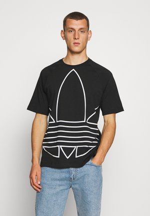 OUT TEE - T-Shirt print - black/white