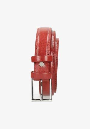 LINDA RUBY CLASSIC BUCKLE - Riem - red