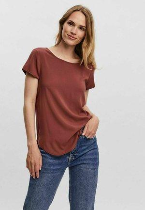 T-shirt - bas - sable