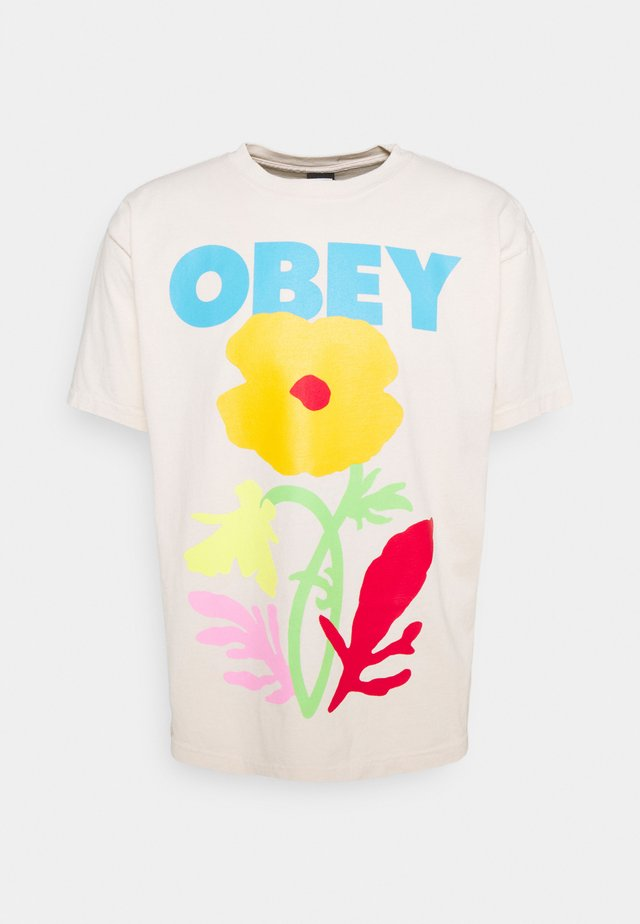 NO FUTURE FOR APATHY - T-shirts med print - sago