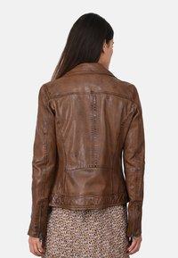 Oakwood - FOLLOW - Leather jacket - brown - 2