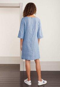 Boden - LAURIE - Day dress - graublauer faux-uni - 2