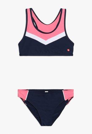 KALANI BEACH BUSTIER BRIEF - Bikini - navy