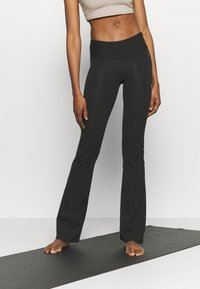 Deha - PANTA JAZZ - Tracksuit bottoms - black - 0