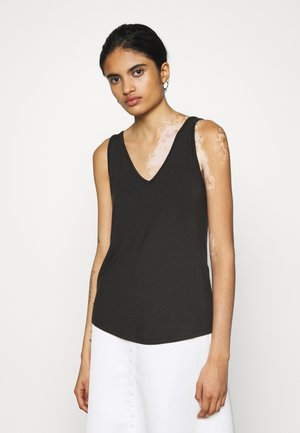 VMAVA V NECK - Top - black