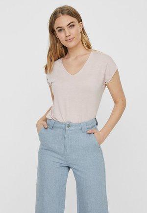 OBERTEIL - Basic T-shirt - sepia rose