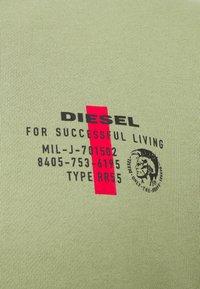 Diesel - WILLY SWEAT-SHIRT - Sweatshirt - olive - 2