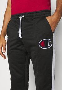 Champion - STRAIGHT PANTS - Teplákové kalhoty - black - 3