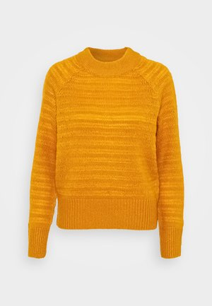 NMSERENA O-NECK - Sweter - inca gold