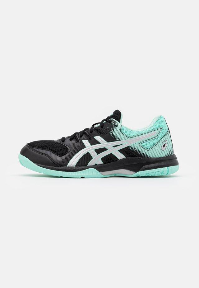 GEL ROCKET 9 - Chaussures de volley - black/fresh ice