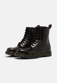 Dr. Martens - 1460 Y - Lace-up ankle boots - purple cosmic glitter - 1