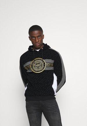 BOTERO OVERHEAD HOODIE - Jersey con capucha - black