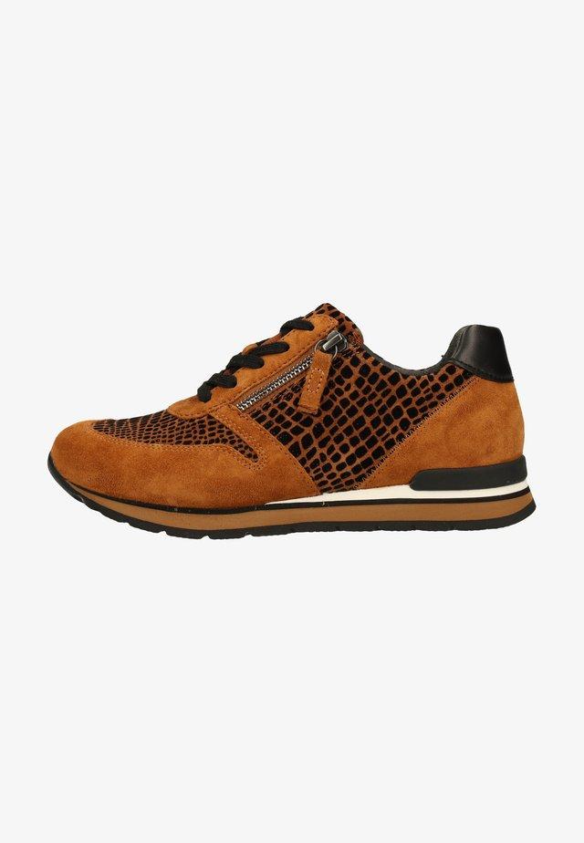Sneakers laag - autumn/rost-schwarz