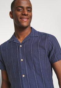 Springfield - CUBAN DOBBY STRIPE - Košile - medium blue - 3